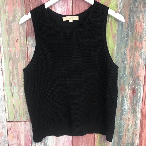 LOFT Tops - Loft heavy knit sleeveless Top